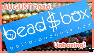 dollar bead box and bag august 2020