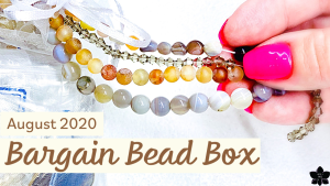 bargain bead box subscription aug 2020